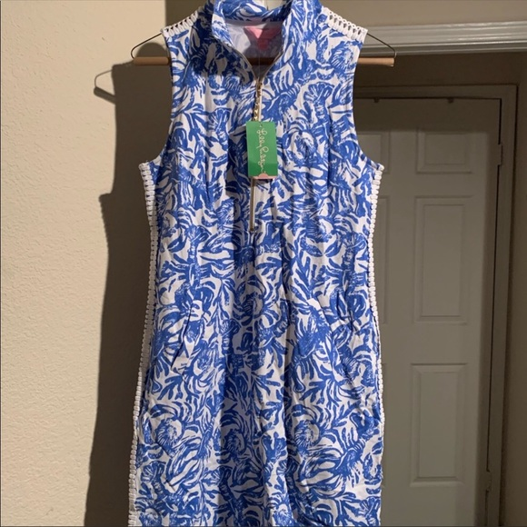 c04919011b5719 NWT Lilly Pulitzer skipper sleeveless dress